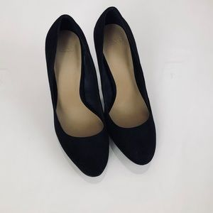 NEW Black Suede Heels by ASOS.